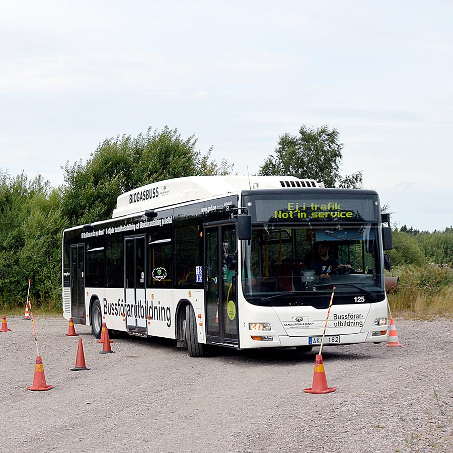 Betald bussförarutbildning
